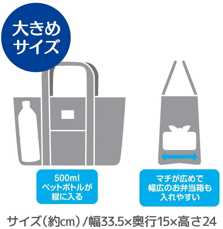 THERMOS(サーモス)保冷ランチバッグ グレー REW-007の商品画像4