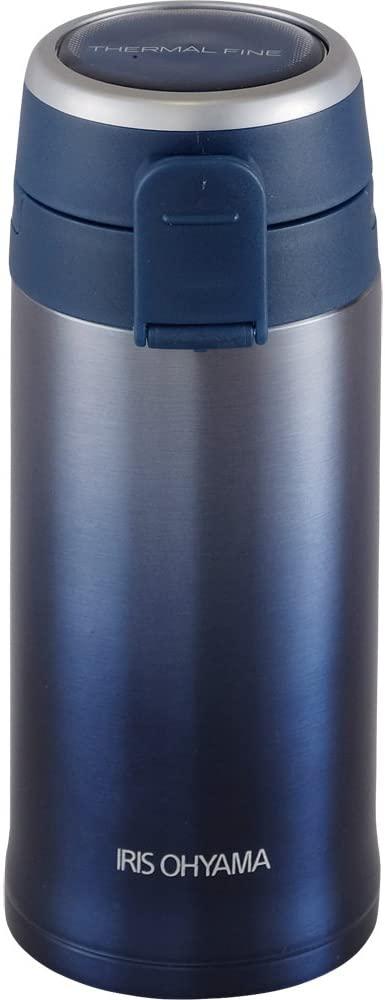 IRIS OHYAMA(アイリスオーヤマ) マグボトル ワンタッチ 軽量 350ml  MBKW-350の商品画像