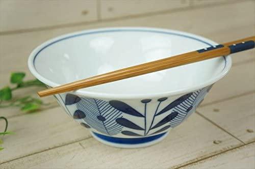 KitchenMartD-まちのうつわ屋さん- オーランド うすかる  麺鉢 19cm 藍色の商品画像2