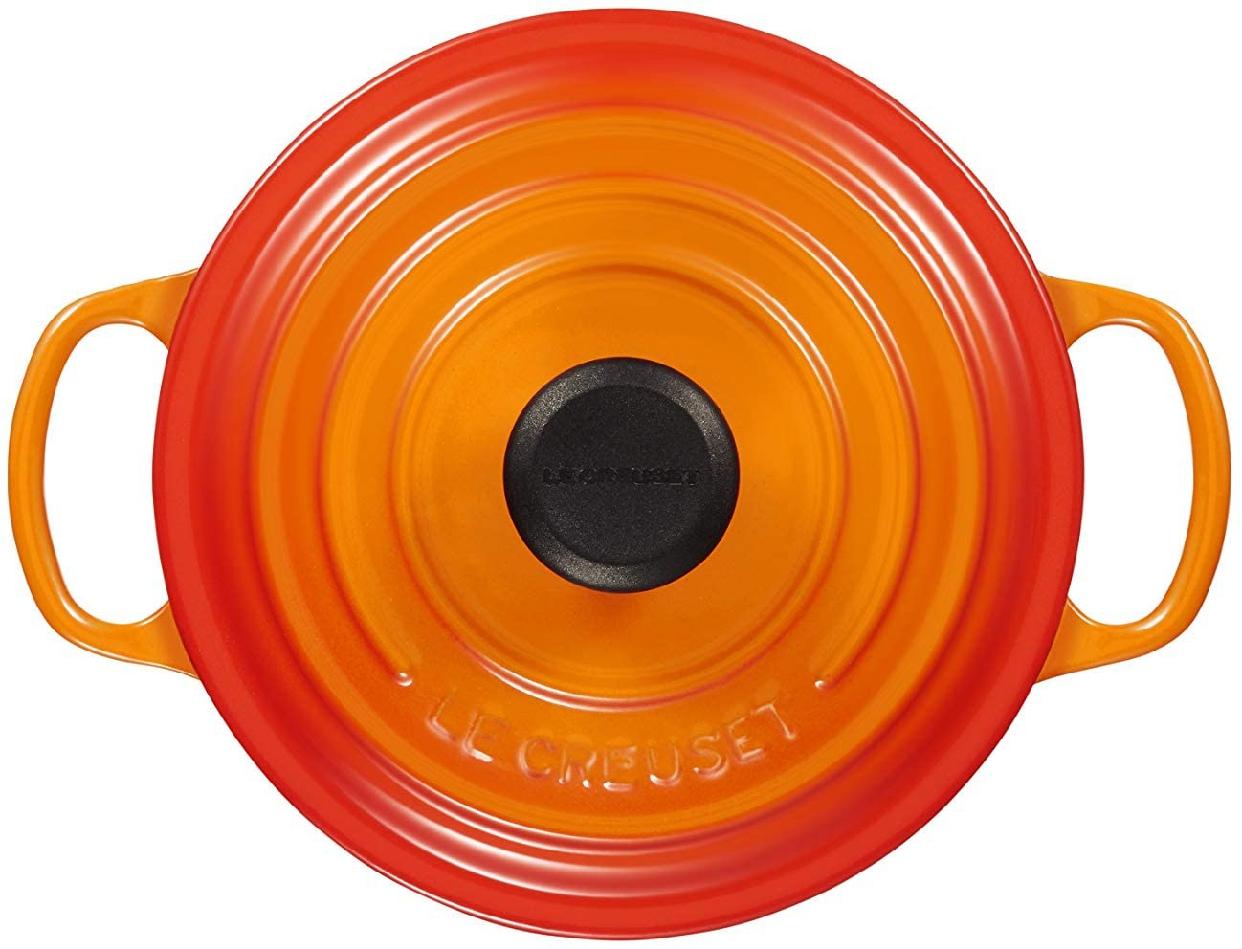 LE CREUSET(ル・クルーゼ)シグニチャー ココット・ロンド 16cm オレンジの商品画像4