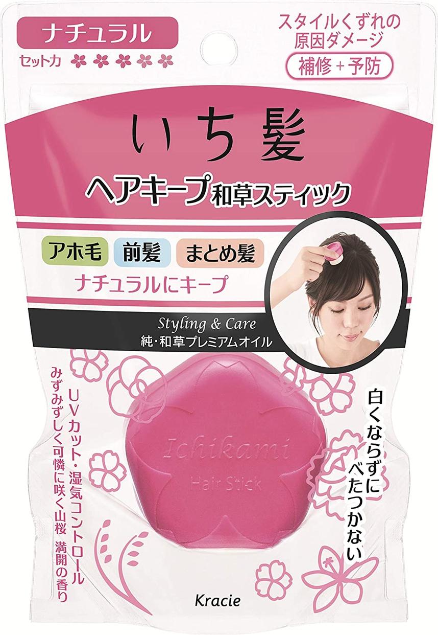 いち髪(ICHIKAMI) ヘアキープ和草スティック(ナチュラル)の商品画像