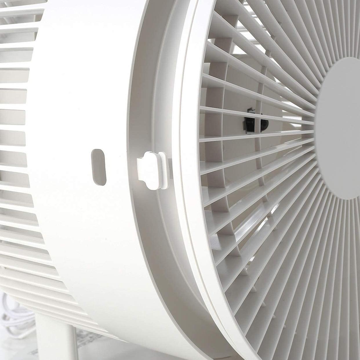 無印良品(MUJI) サーキュレーター(低騒音ファン・大風量タイプ) AT-CF26R-Wの商品画像6