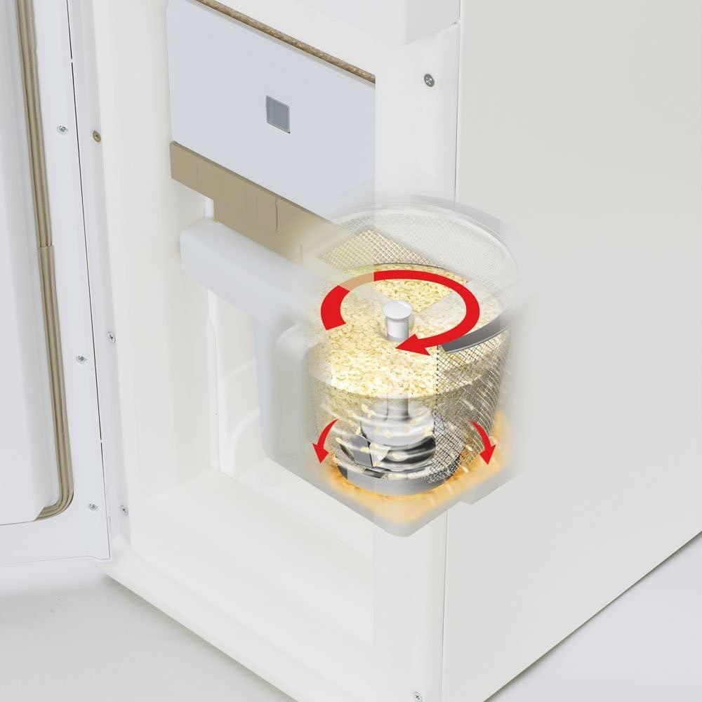 エムケー保冷精米機米冷え~る + mill NCP-10W ホワイトの商品画像8