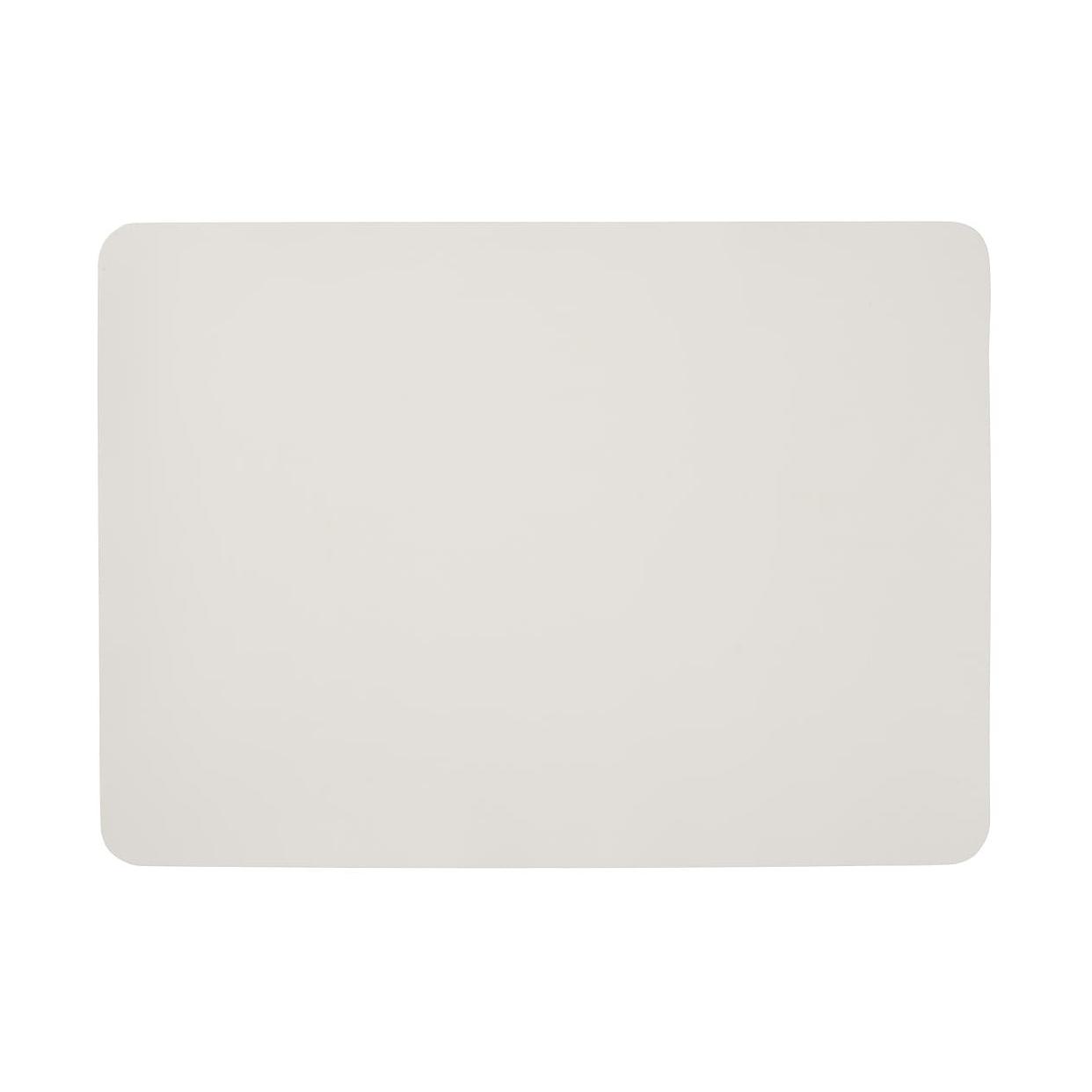 無印良品(MUJI) シリコーンランチョンマット ホワイト 82213461の商品画像