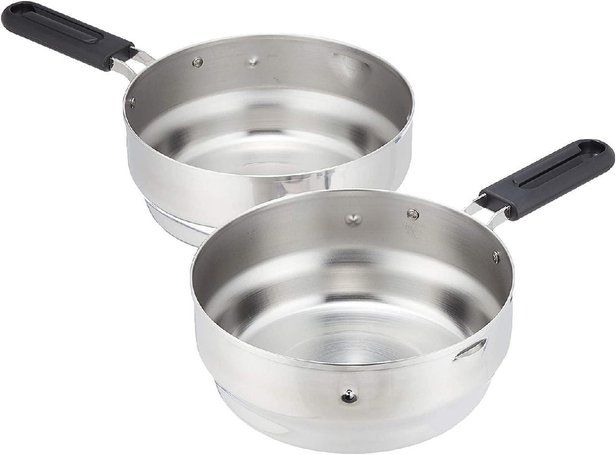 kakusee(カクセー) 揚げてお仕舞い天ぷら鍋 シルバーの商品画像4