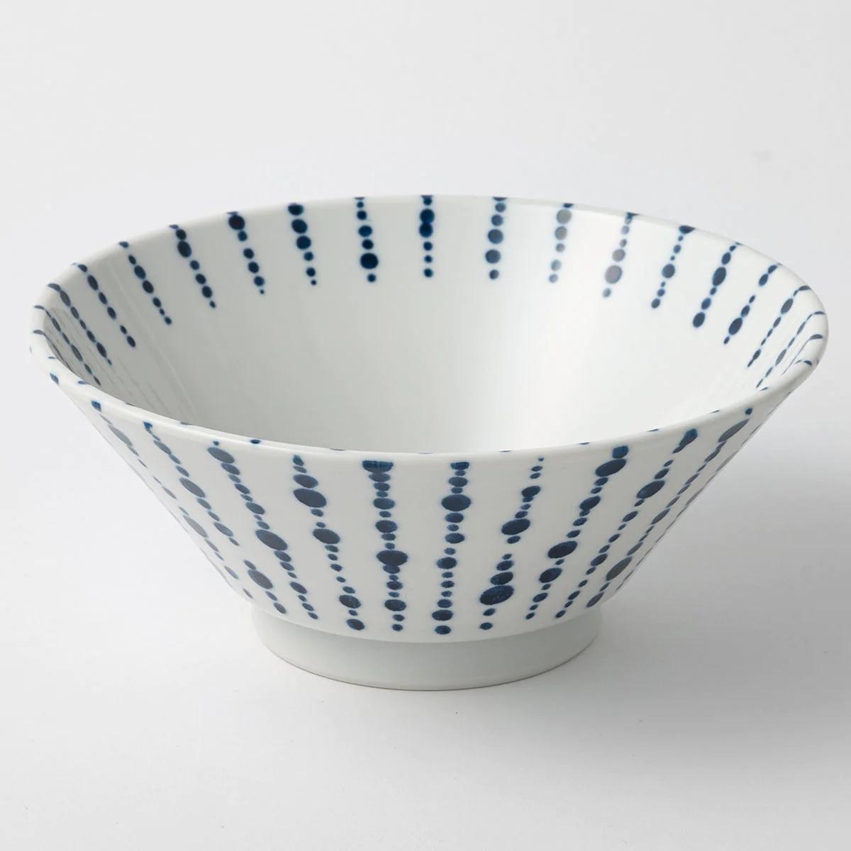 NITORI(ニトリ) 切立ラーメン丼 点十草 19cmの商品画像
