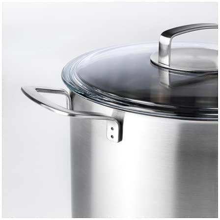 IKEA 365+(イケア 365プラス)スープ鍋 ふた付 シルバー 102.567.45の商品画像4