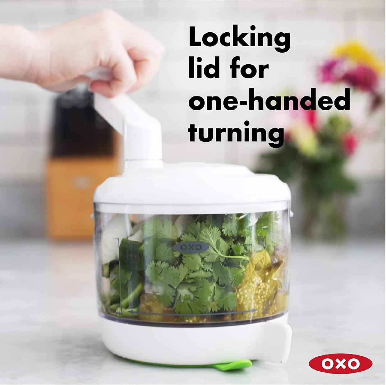 OXO(オクソー) ハンドル式フードチョッパー 11238000の商品画像2