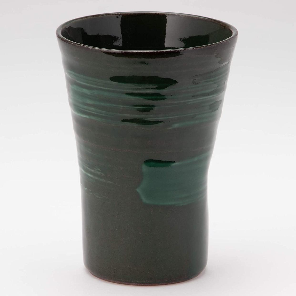 MINO CRAFT.(みのうくらふと)持ち易い焼酎カップ エメラルド K51148の商品画像3