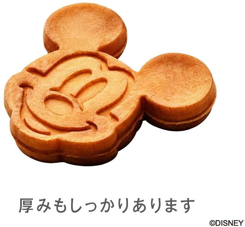 DOSHISHA(ドウシシャ) ワッフルメーカー ミッキーマウス シルバー WAFU-100SIの商品画像7
