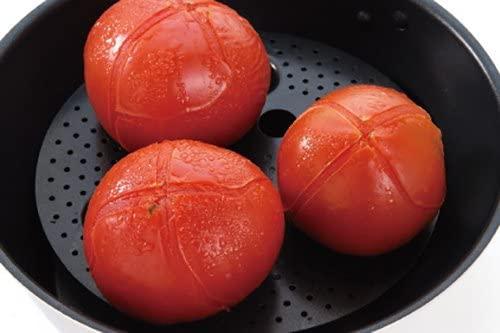 ウルシヤマ金属(ウルシヤマキンゾク)便利プレート フライパンで簡単蒸し調理 ブラックの商品画像5