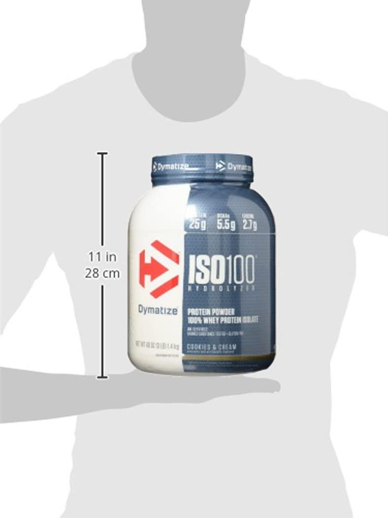 Dymatize(ダイマタイズ) ISO100 ハイドロライズド 100%ホエイアイソレートの商品画像13