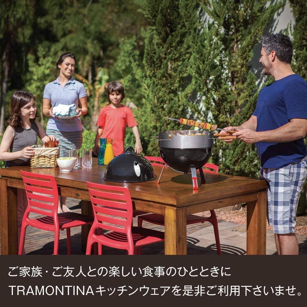 TRAMONTINA(トラモンティーナ)ポリウッド バタースプレッダー ダーク 17cmの商品画像9
