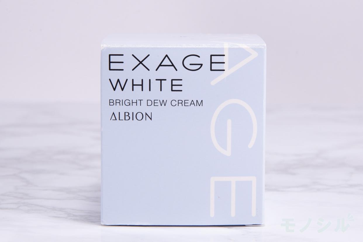 EXAGE WHITE(エクサージュホワイト)ブライトデュウ クリームの商品外箱の画像
