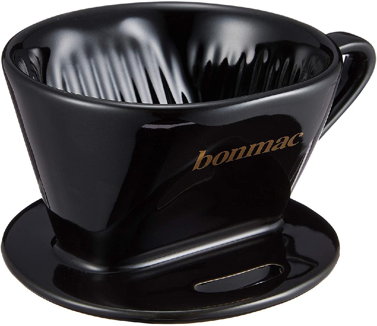 BONMAC(ボンマック) コーヒー ドリッパー メジャースプーン付き 1~2杯用 CD-1B ブラック #813002の商品画像