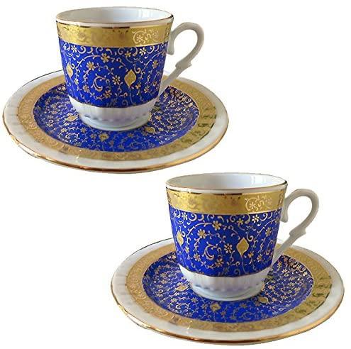 Gural Porseren(ギュラルポルセレン) ゴールデンホーン デミタスコーヒーカップ&ソーサー2客セットの商品画像