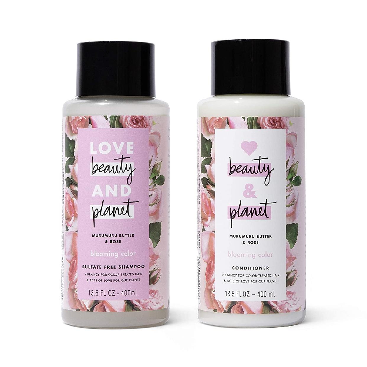 Love Beauty And Planet(ラブビューティアンドプラネット) カラーケアシャンプー&コンディショナーセットの商品画像