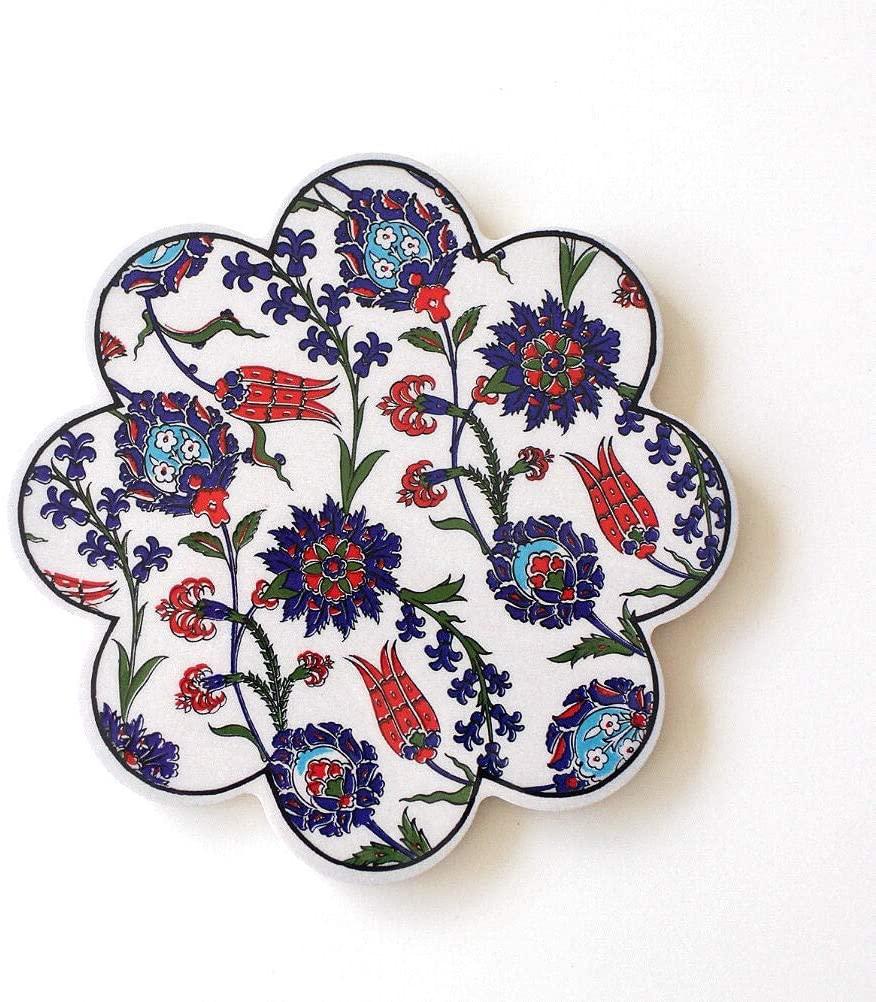 ギギliving 鍋敷き トルコの陶器プレート [ras4867]の商品画像