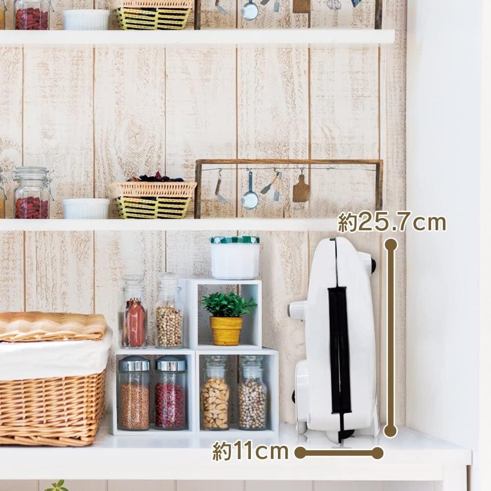IRIS OHYAMA(アイリスオーヤマ)マルチサンドメーカー IMS-703P-W ホワイトの商品画像5