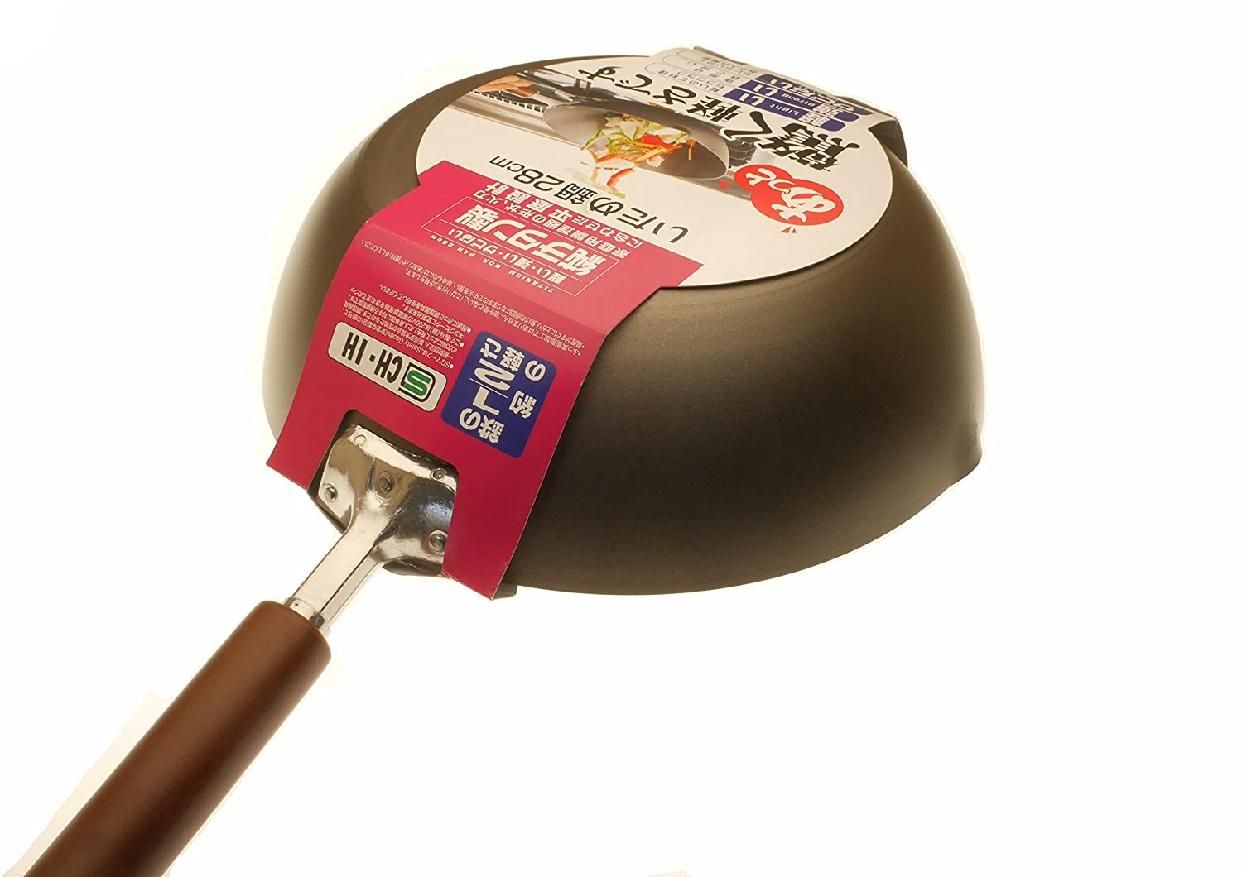 貝印(KAI) 純チタン製 木柄 いため鍋28cmの商品画像7