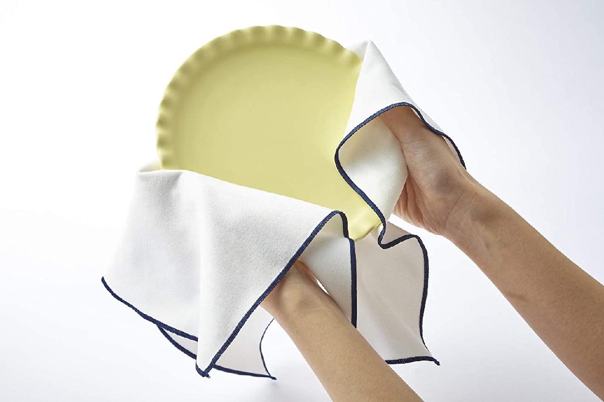 そうじの神様(ソウジノカミサマ)肌触りが優しい 食器拭きクロス ホワイト S081の商品画像3