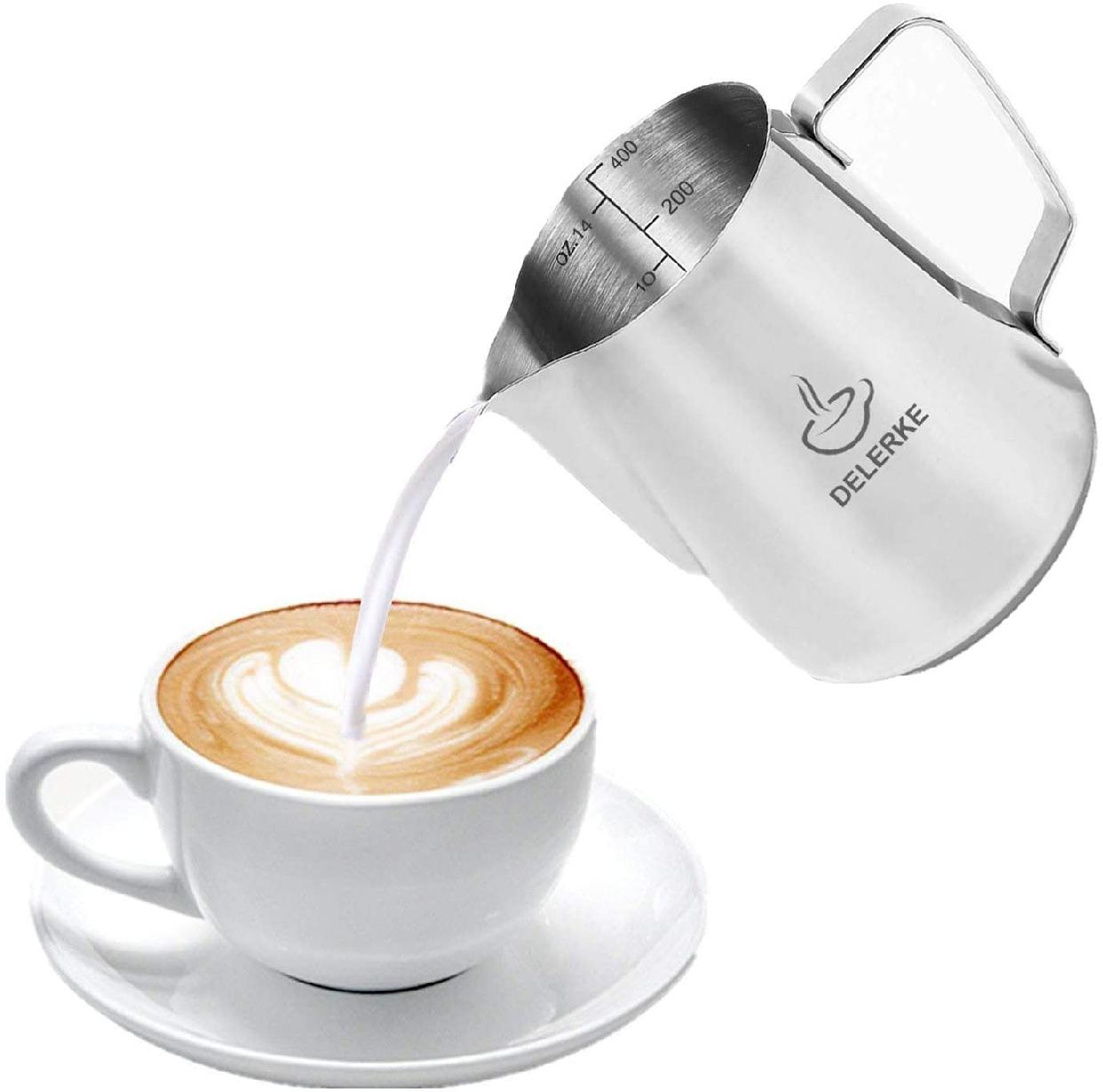 DELERKE(デラーク)ミルク ピッチャー 400ml シルバーの商品画像3