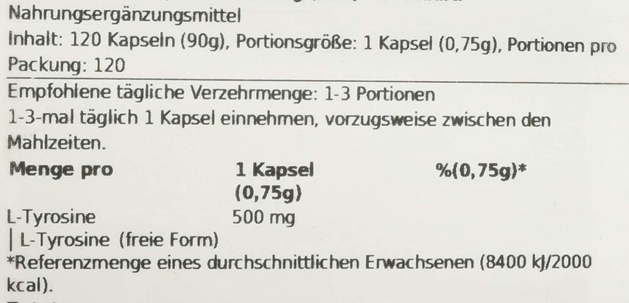 NOW Foods(ナウフーズ) L-チロシンの商品画像10