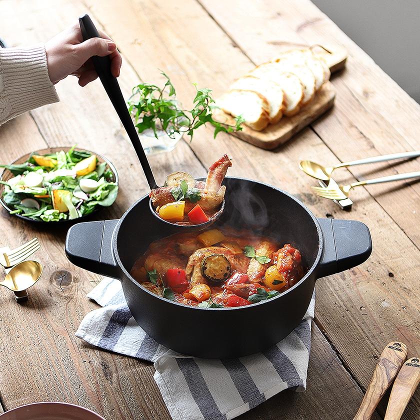 JIA Black Cookware(ジア ブラッククックウエア)レードルの商品画像6
