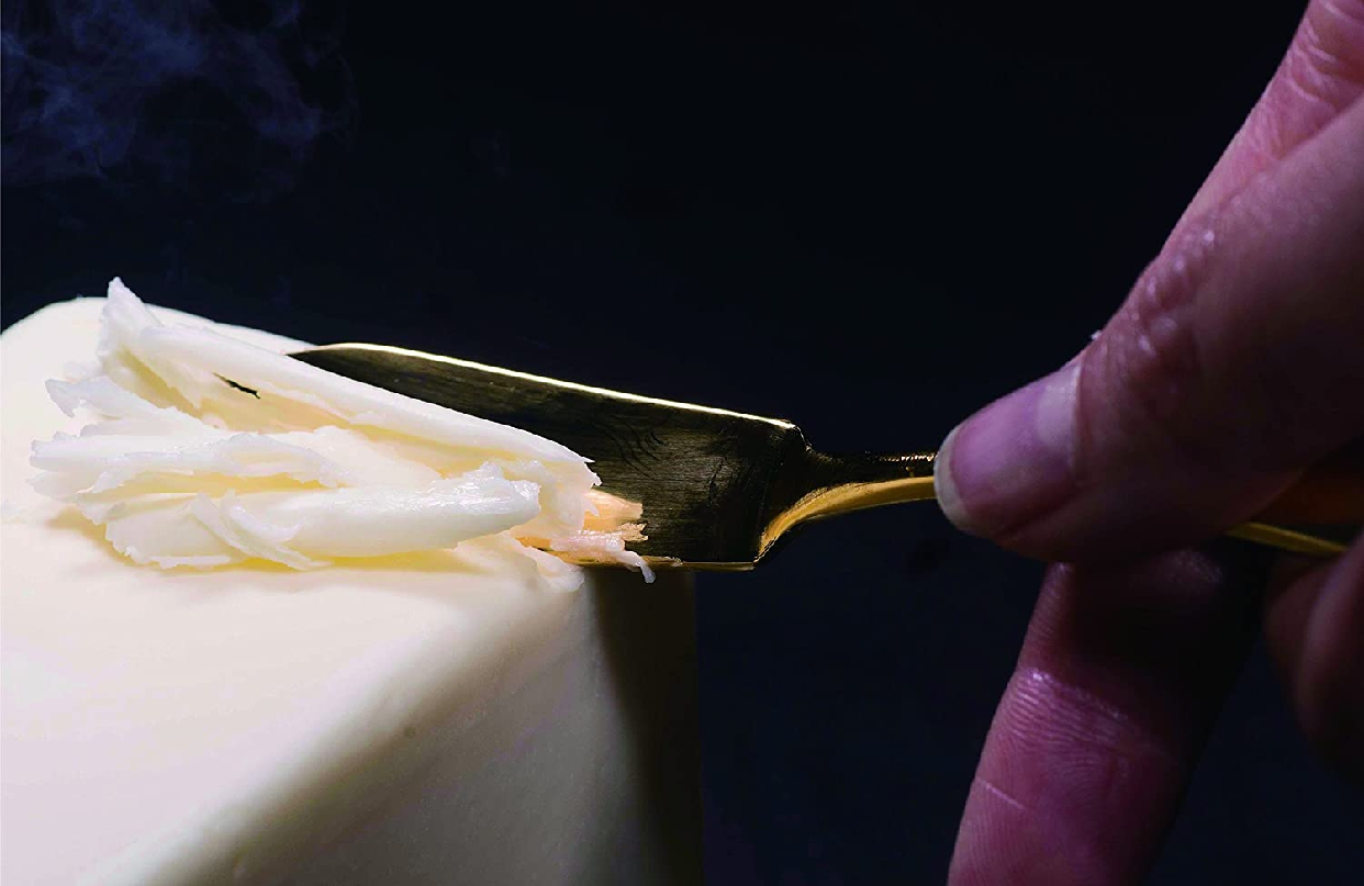 COPPER the cutlery(カパーザカトラリー)バターナイフ 1pc Gold mirror CB-1GDmiの商品画像2