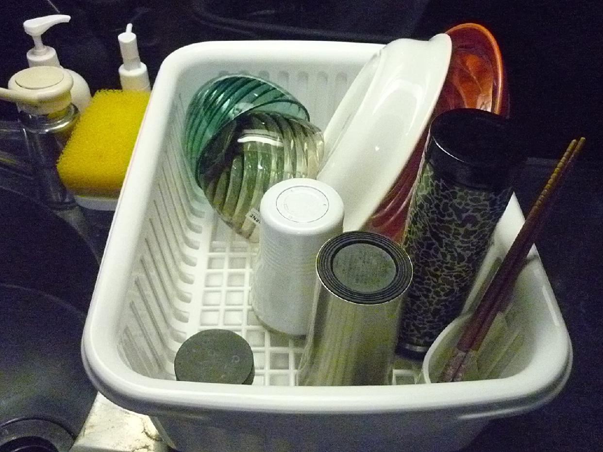 N POSE(エヌポゼ) 水切セット 大 フード付き ホワイトの商品画像2