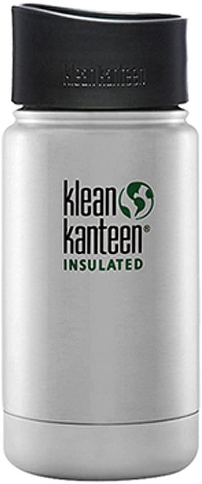 Klean Kanteen(クリーンカンティーン) ワイドインスレート ボトルカフェキャップ2.0 12oz  ステンレスの商品画像
