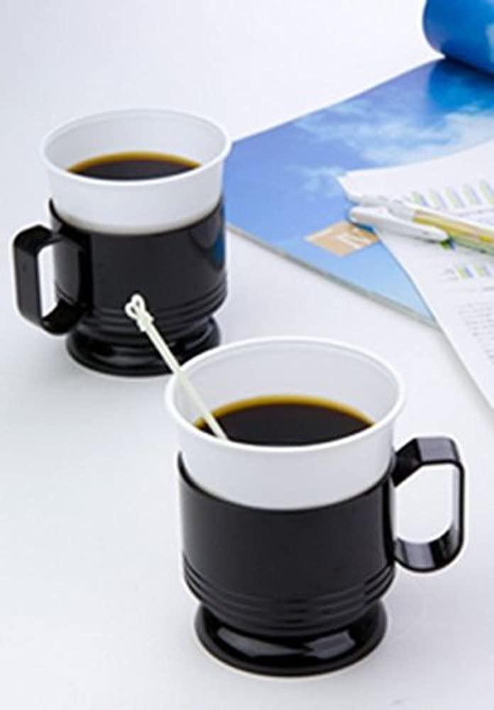 日本デキシー(ニホンデキシー)プラスチックマドラー 13cm ホワイトの商品画像2