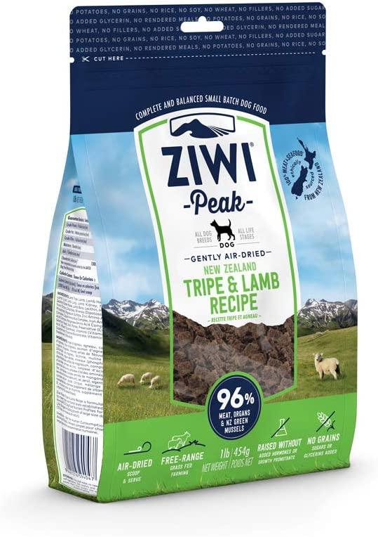 ZiwiPeak(ジウィピーク) エアドライ・ドッグフード トライプ&ラムの商品画像