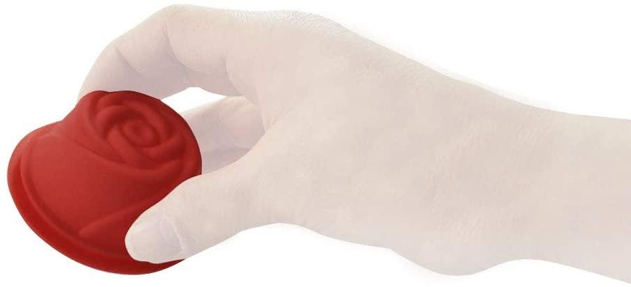 Kai House SELECT(カイハウスセレクト)生地がくっつきにくいシリコーン製のお菓子型(ローズ)レッド DL6242の商品画像6