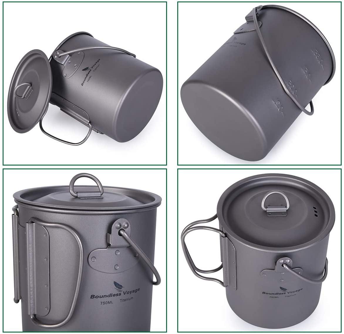 iBasingo(アイバシンゴ) チタンカップ+折り畳み割スプーンセットの商品画像6