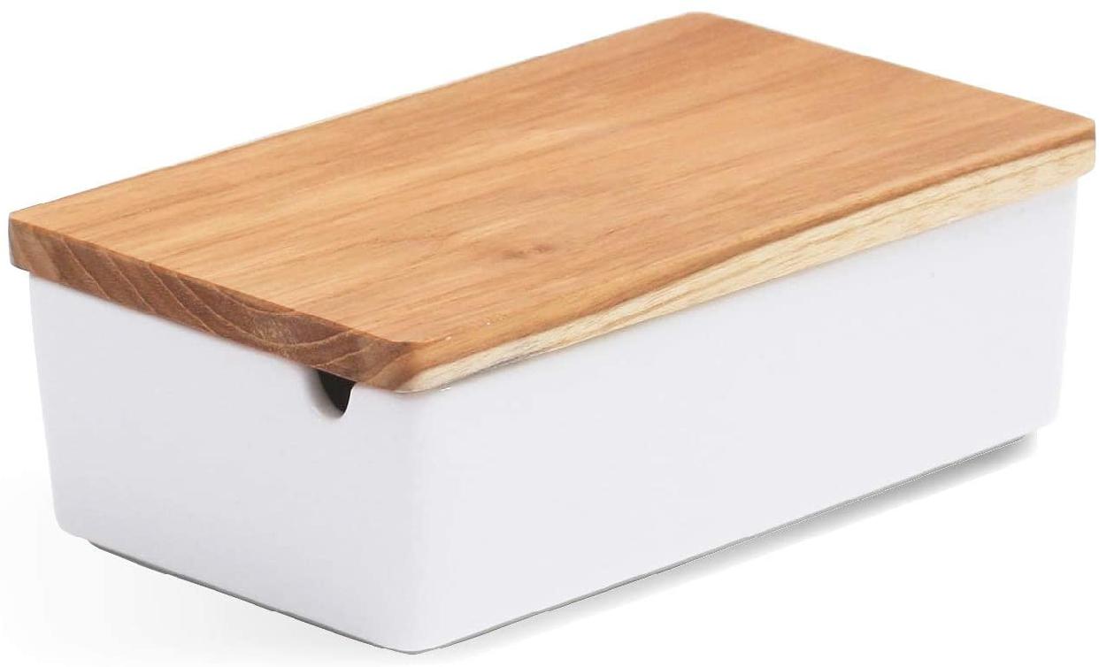 B STYLE KITCHEN(ビースタイルキッチン)木製バターケース 32401の商品画像