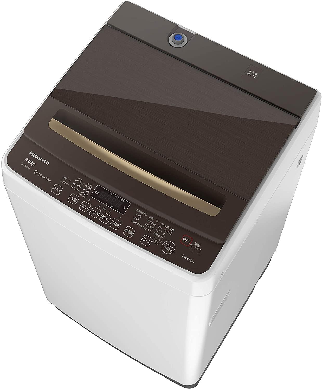 Hisense(ハイセンス) 全自動洗濯機 HW-DG80Aの商品画像