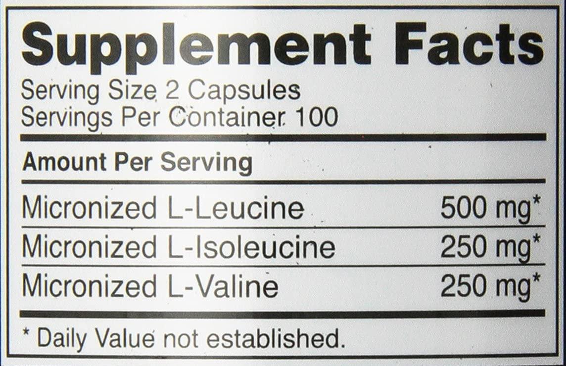 Optimum Nutrition(オプティマム ニュートリション) BCAA 1000 CAPSの商品画像8