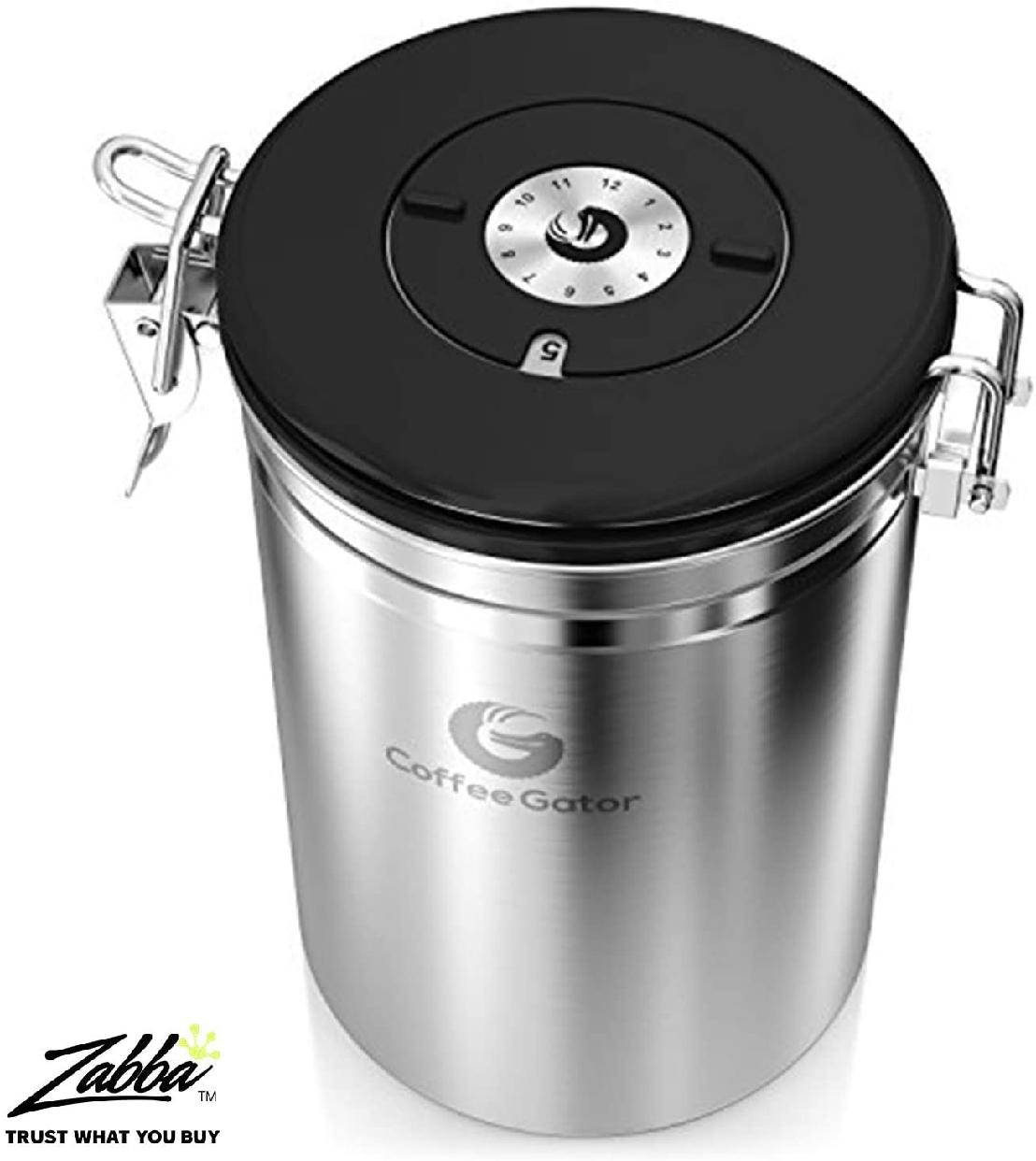 Coffee Gator(コーヒーゲーター) ステンレススチール コーヒーキャニスター 2-packの商品画像3