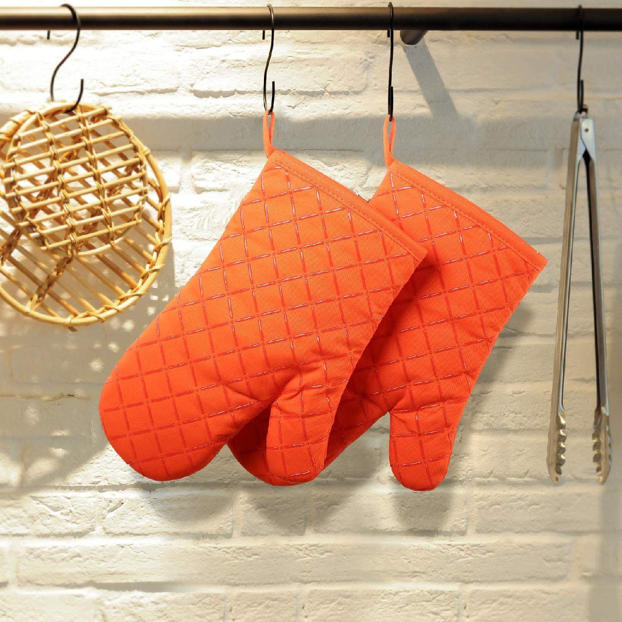 Big Urite(ビッグウライト) 断熱オーブンミトン 2枚セット(オレンジ)の商品画像5