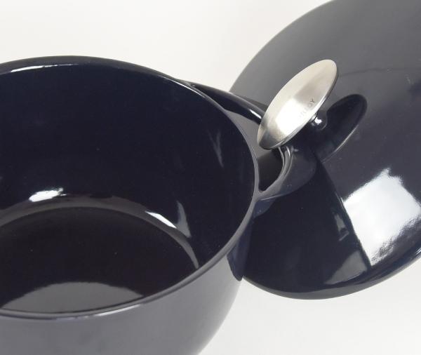 UNILLOY(ユニロイ) キャセロール浅型22cm〈藍〉の商品画像10