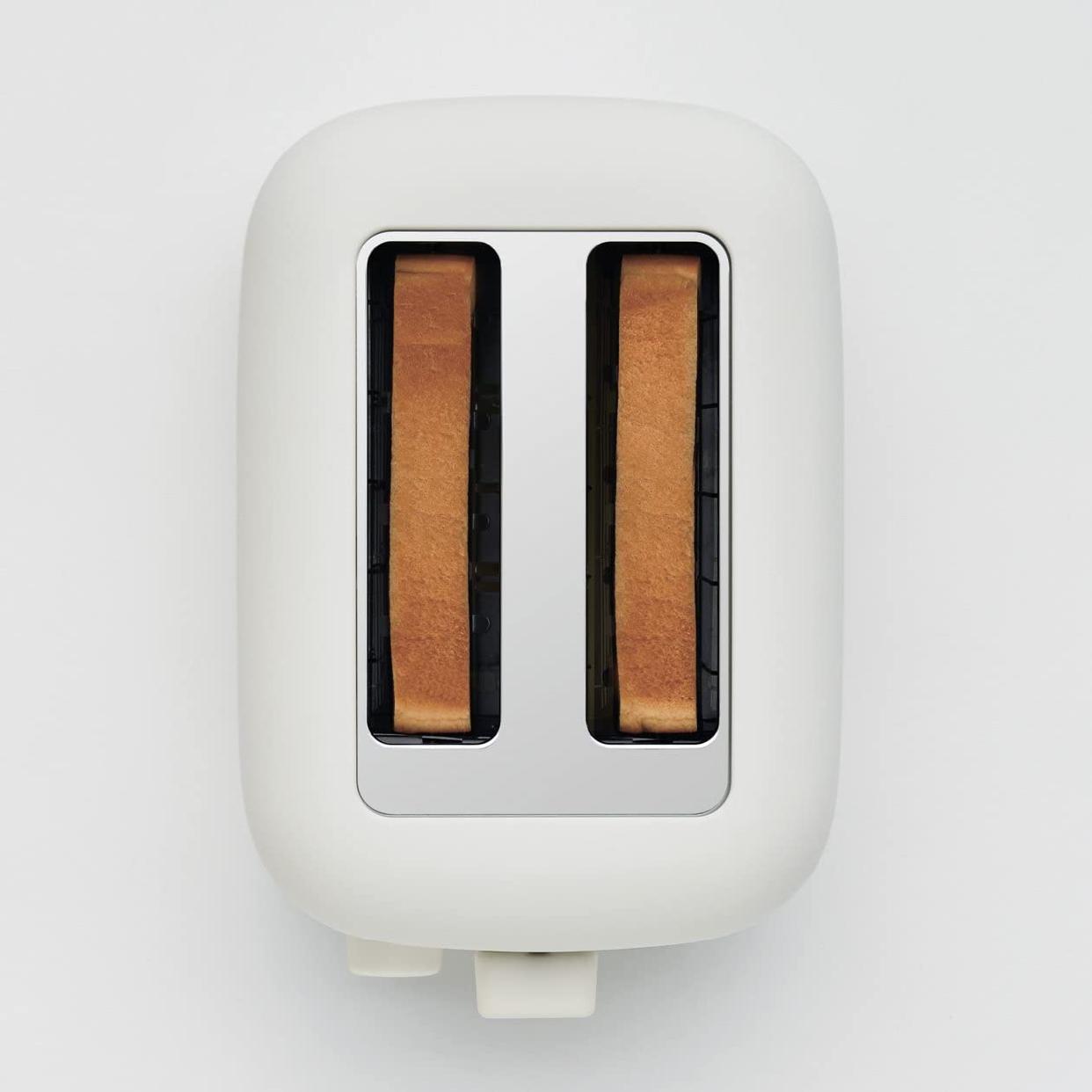 無印良品(MUJI) ポップアップトースター ホワイト MJ-PT6Aの商品画像3