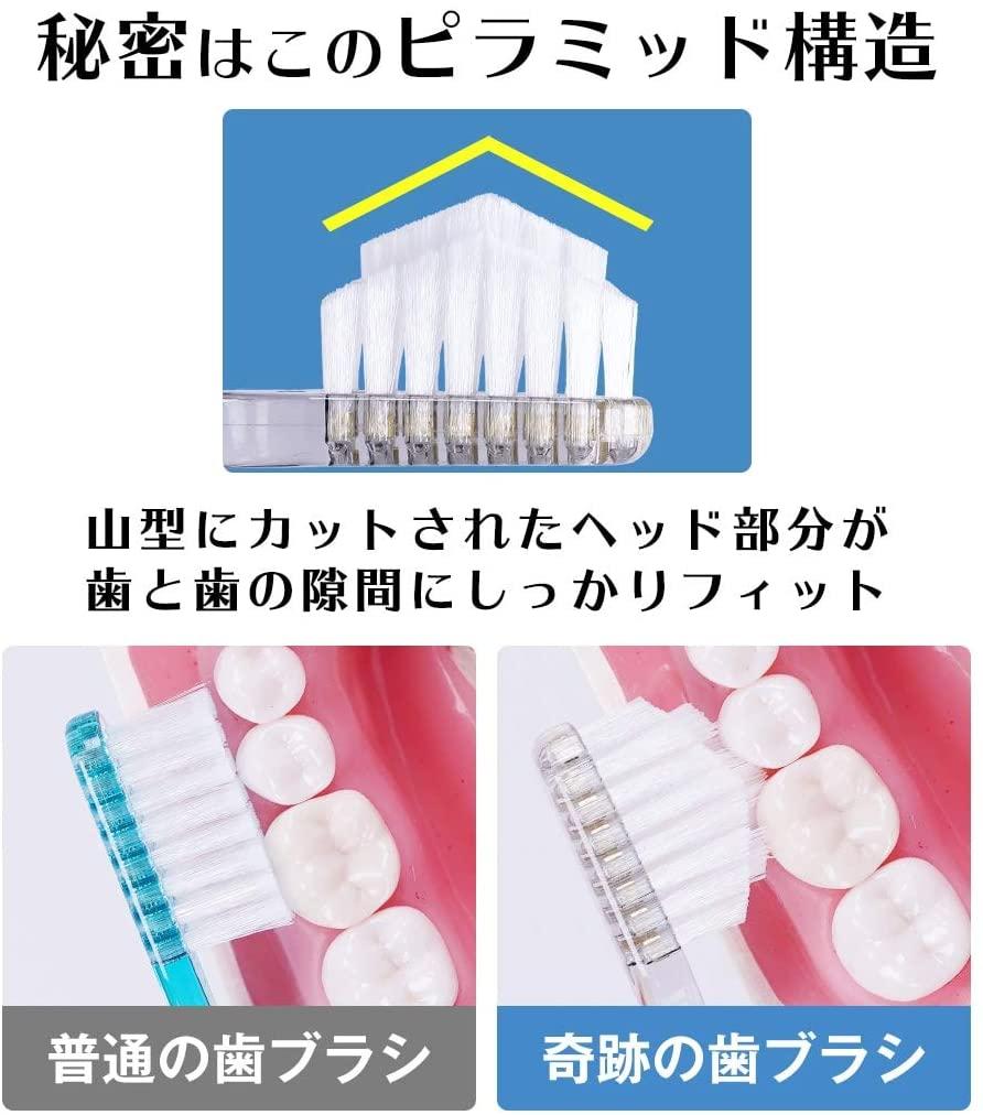 奇跡の歯ブラシ(きせきのはぶらし)歯ブラシの商品画像5
