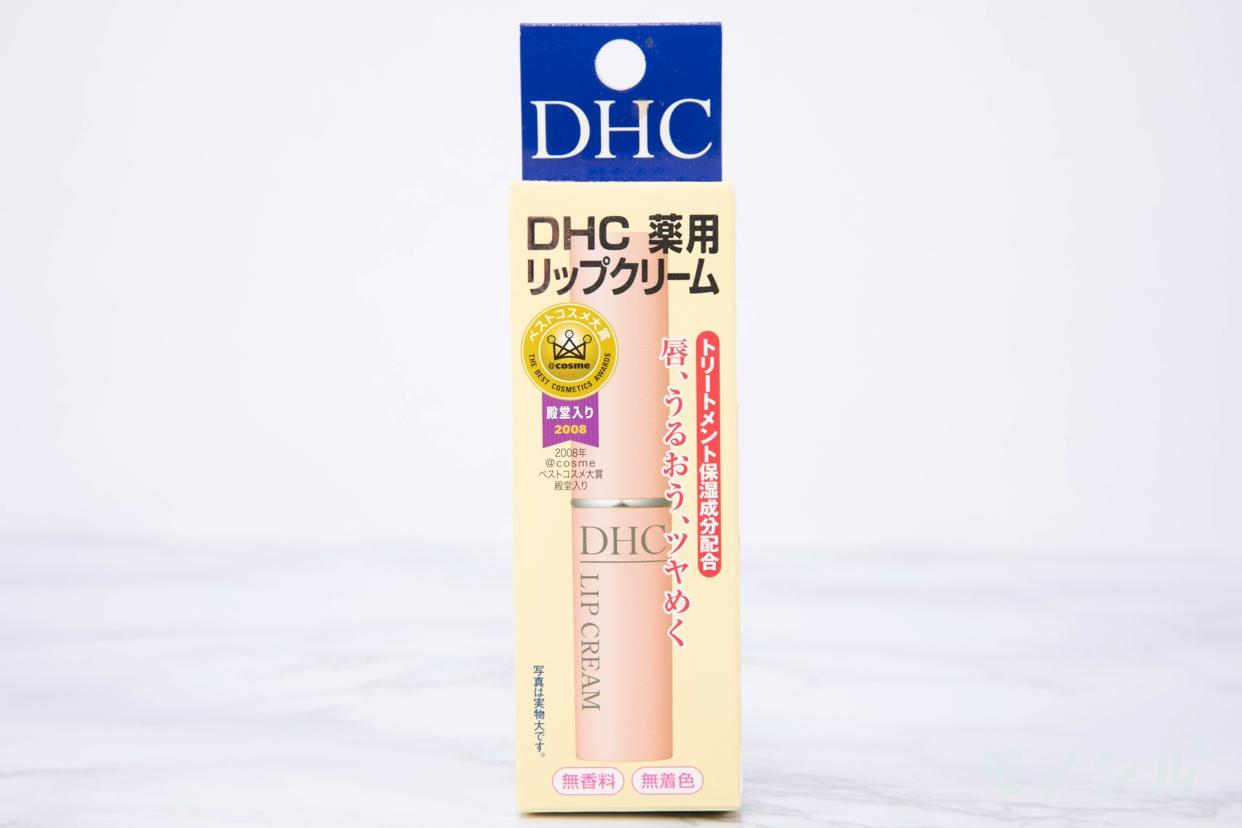 DHC(ディーエイチシー) 薬用リップクリームの商品画像2 商品のパッケージ正面画像