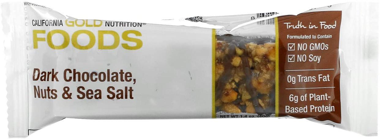 California Gold Nutrition(カリフォルニア ゴールド ニュートリション) プロテインバーの商品画像4