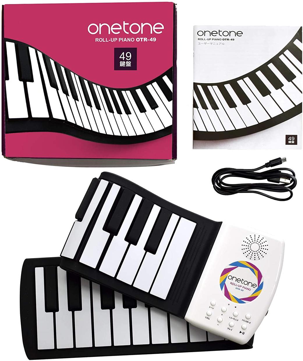 ONETONE(ワントーン) 49鍵盤ロールピアノ OTR-49の商品画像