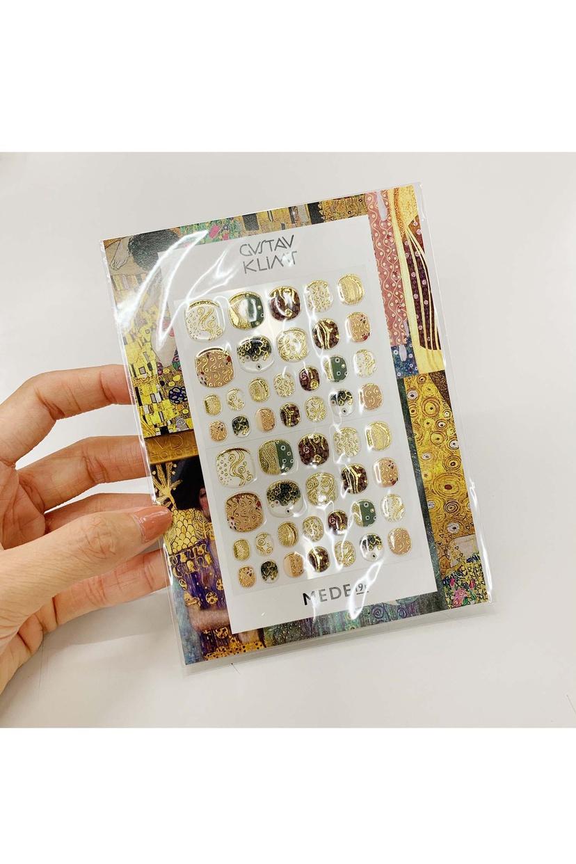 FELISSIMO(フェリシモ) MEDE19F クリムトの世界をまとうネイルシールの会の商品画像10