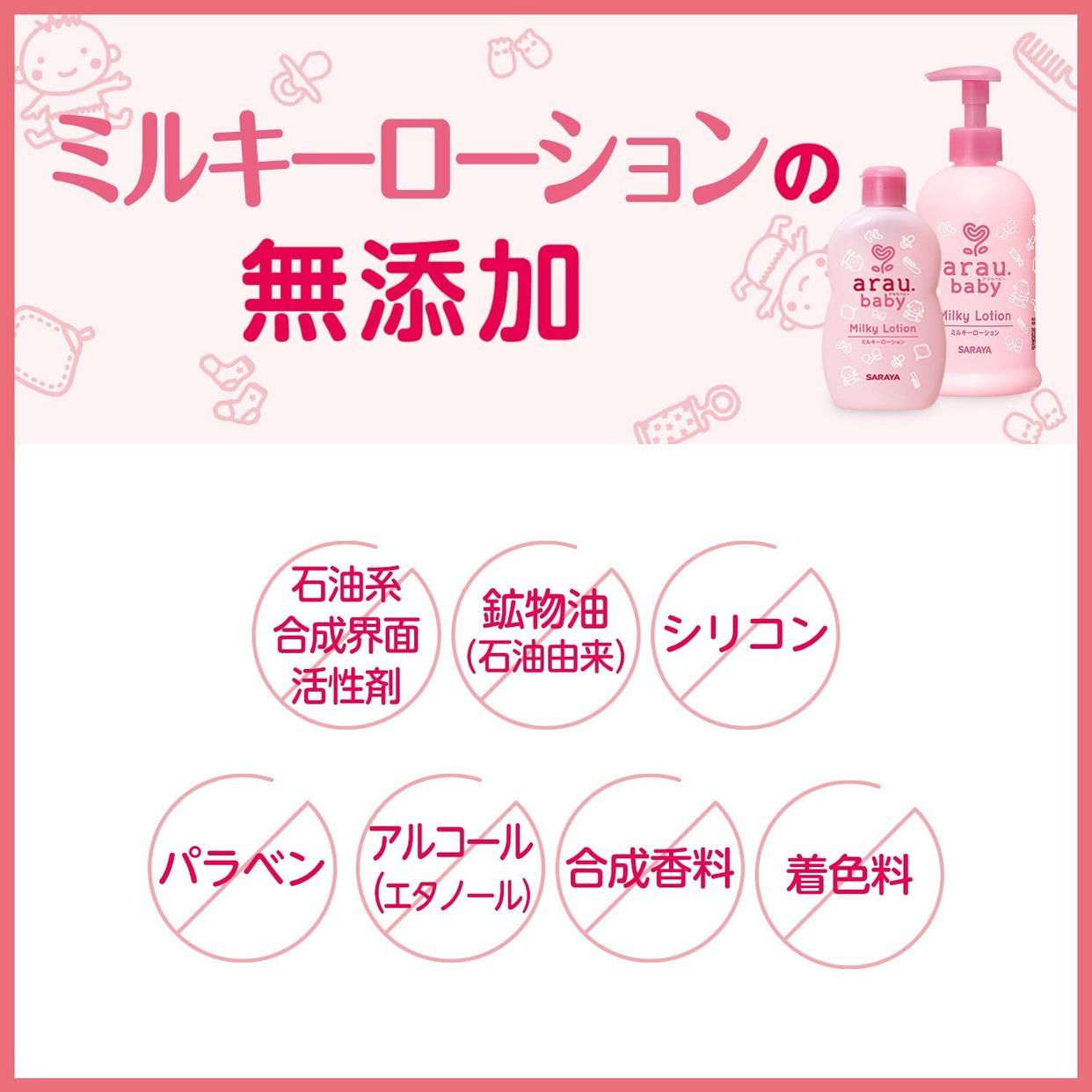 arau.baby(アラウ.ベビー) ミルキーローションの商品画像4