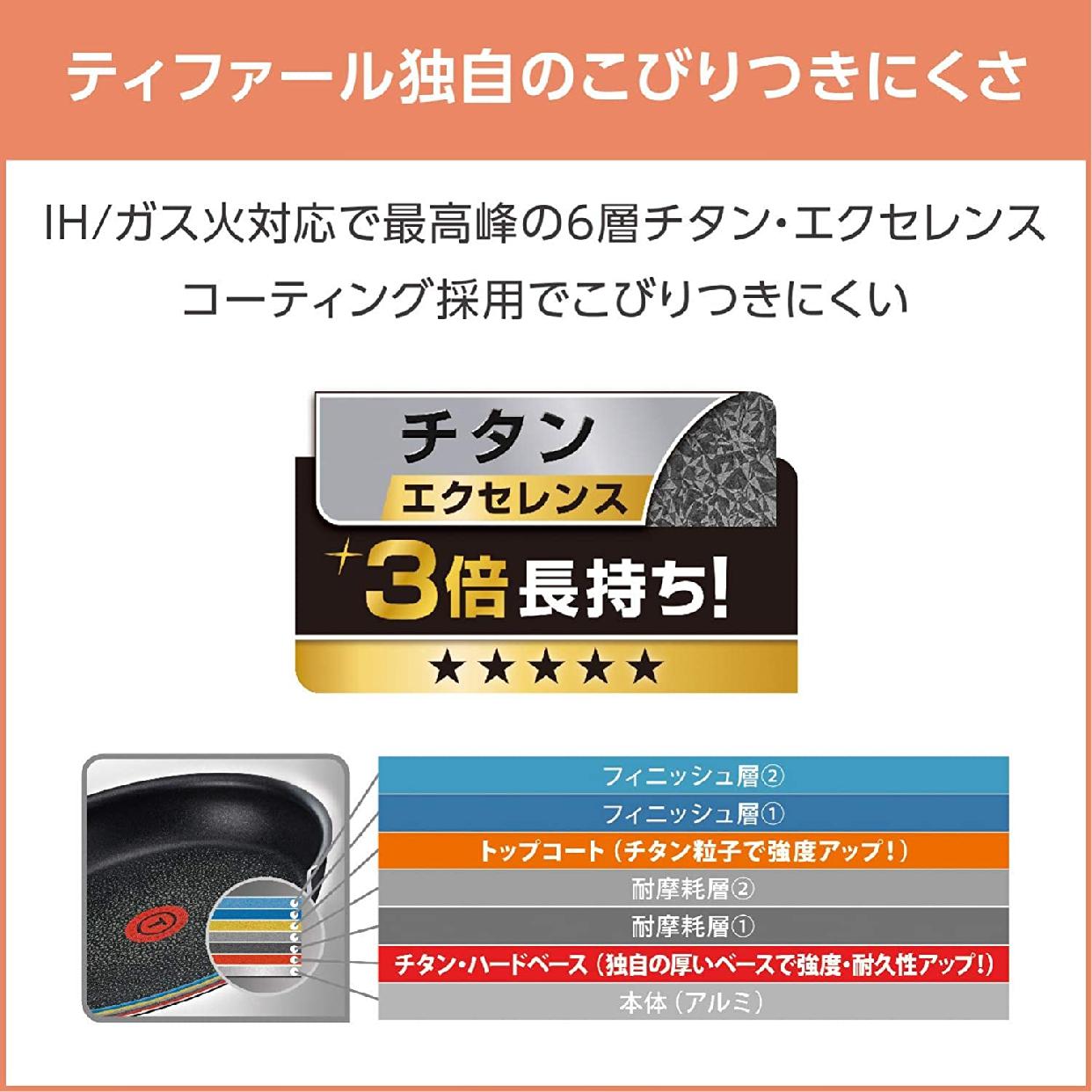 T-fal(ティファール)インジニオ・ネオ・エクセレンス 8点セットの商品画像6
