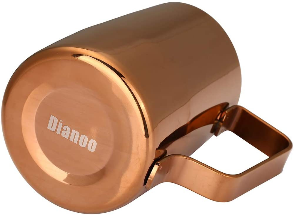 Dianoo(ディアノー)Espresso Steaming Pitche Goldの商品画像2